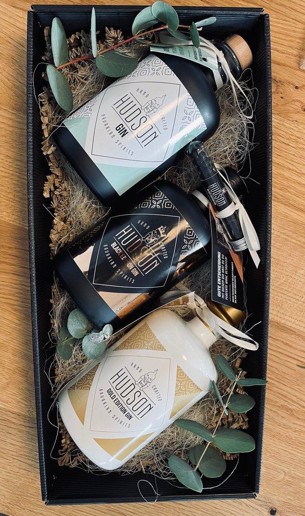 Hudson Gin 3er Box
